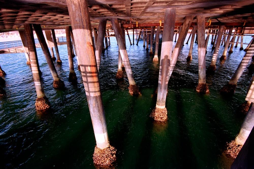 Santa Monica Pier Kodak Ektar  007