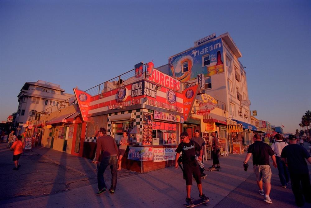 Santa Monica Pier Kodak Ektar  009