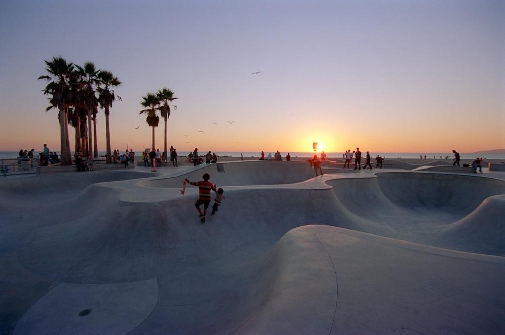 Santa Monica Pier Kodak Ektar  013