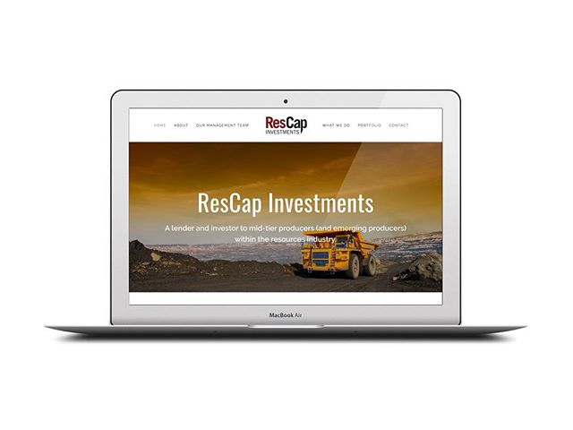 ResCap Investments - www.rescapinvestments.com.au  About: ResCap Investments is a lender and investor to mid-tier producers (and emerging producers) within the resources industry.  For information on a quote for your website contact us at enquire@hypd.com.au  #webbuildwebsites #hypdwebsites #anotherhypdwebsite #startups #websites #webdevelopment #webdevelopers #consulting #websitebuilders #squarespace #shopify #wordpress