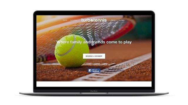 Recent update to the www.turbotennis.com.au website!
