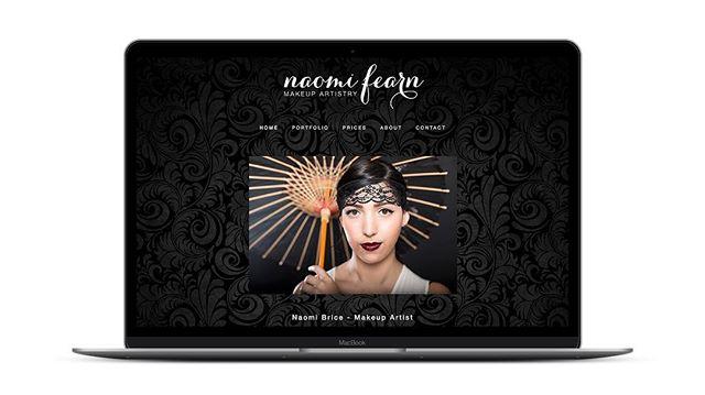 www.naomifearnmua.com @naomi_fearnmua Makeup Artist #webdesign #melbourne #squarespacedesigner