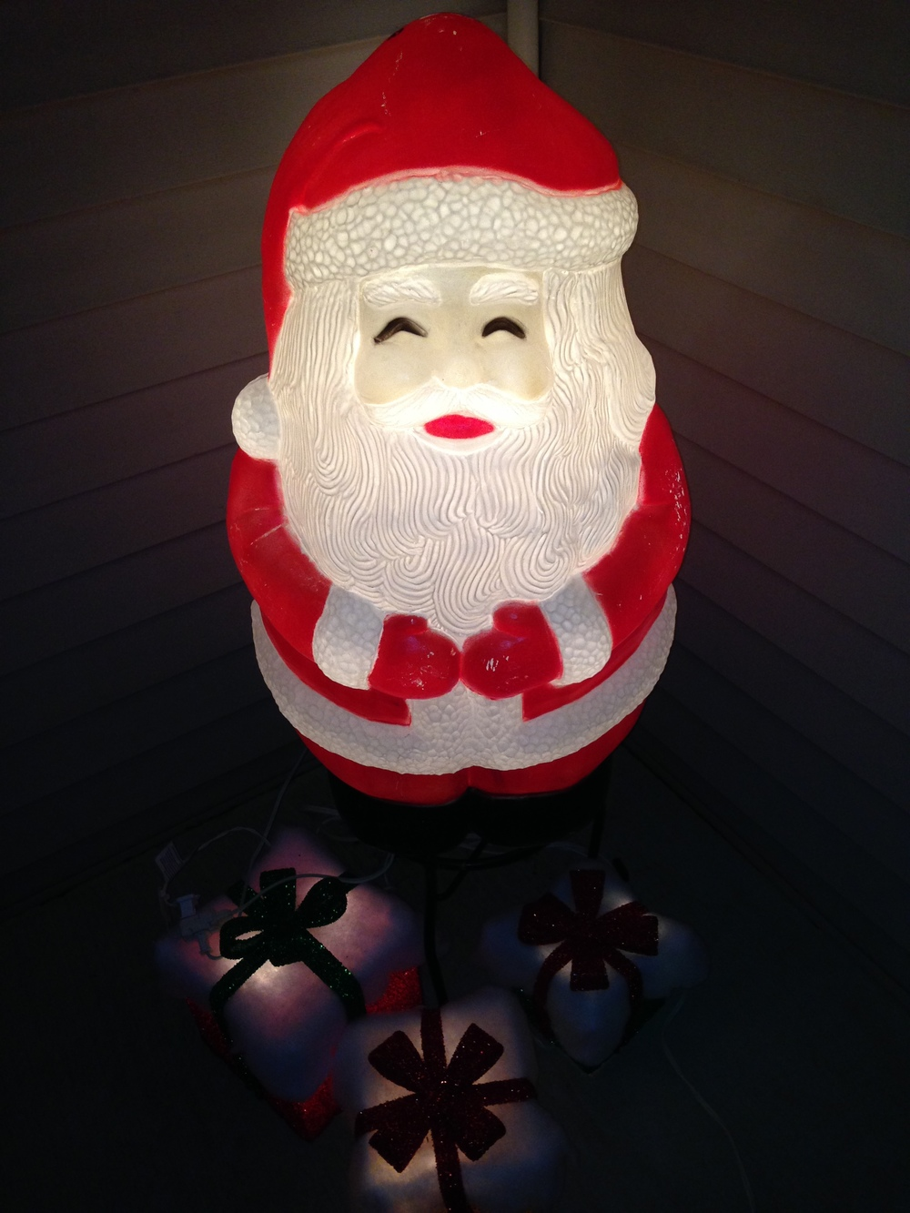 Happy Buddha Santa!