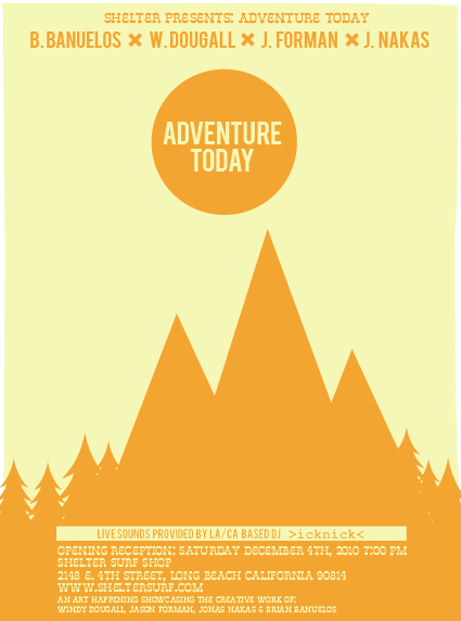 ADVENTURE TODAY ART SHOW POSTERS Modern Obscura