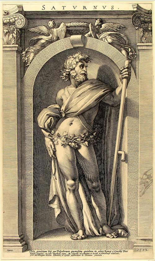 The Roman God,Saturnus