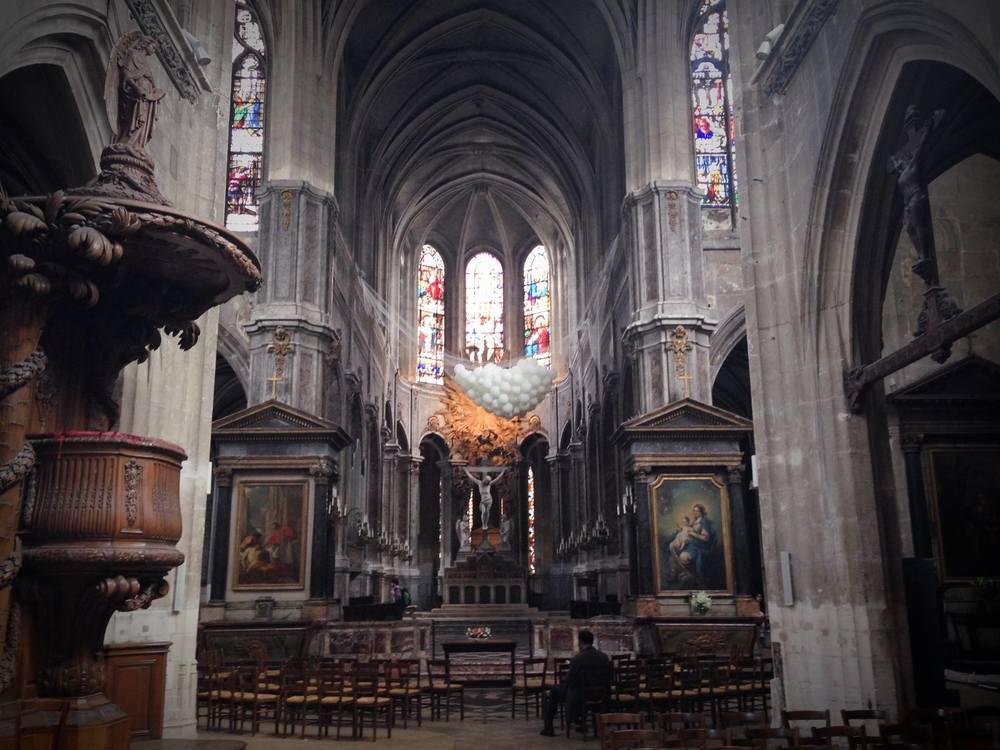 Église Saint Merry – Les Rendez-vous contemporains , i mage by FOUDRE