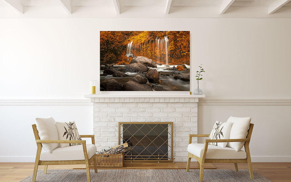 Waterfall Wall Decor