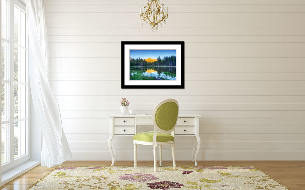 Yosemite Lake Wall Decor
