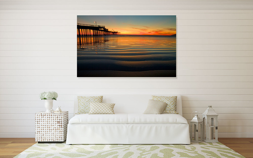 Pismo Beach Pier, CA Wall Decor