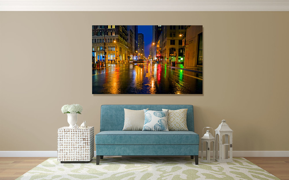 Downtown San Francisco Financial District Wall Decor