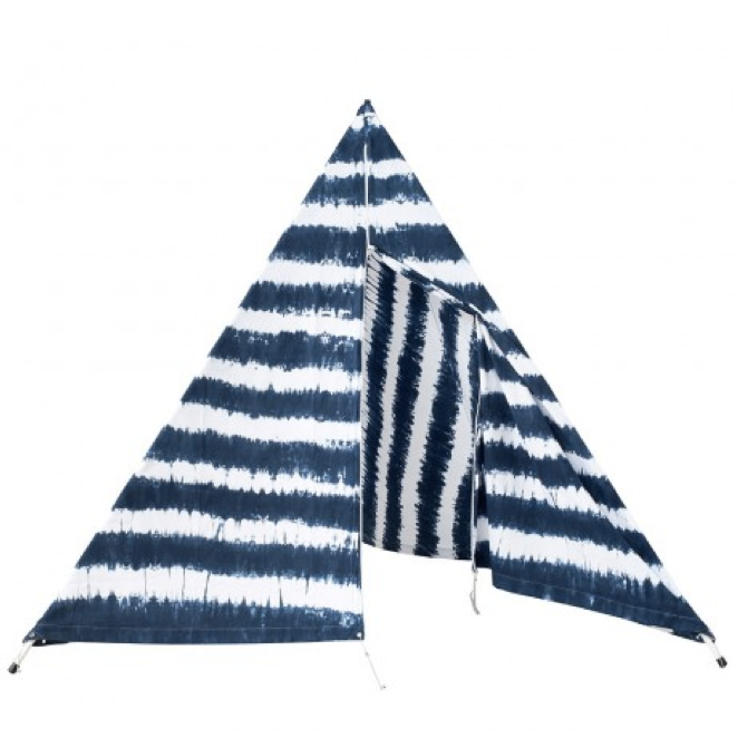 Ginger & Gilligan Beach Supply Co.  Tipi Indigo from $285