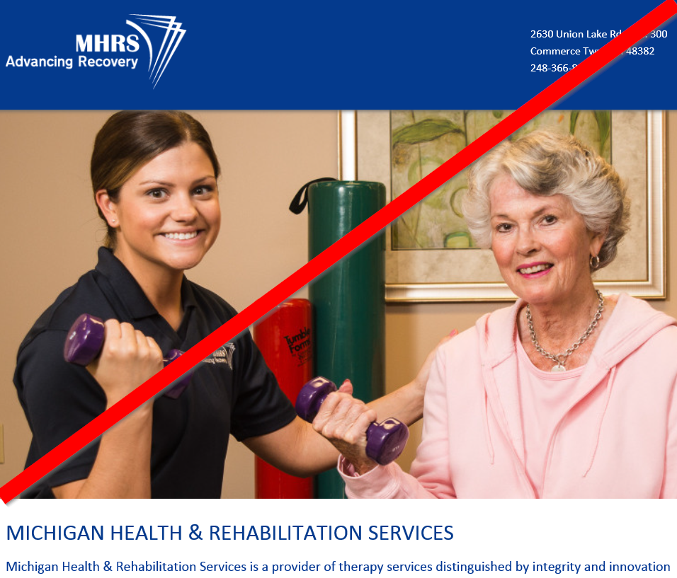 Am I Next? Health care layoffs. Home Rehabilitation Services of Michigan