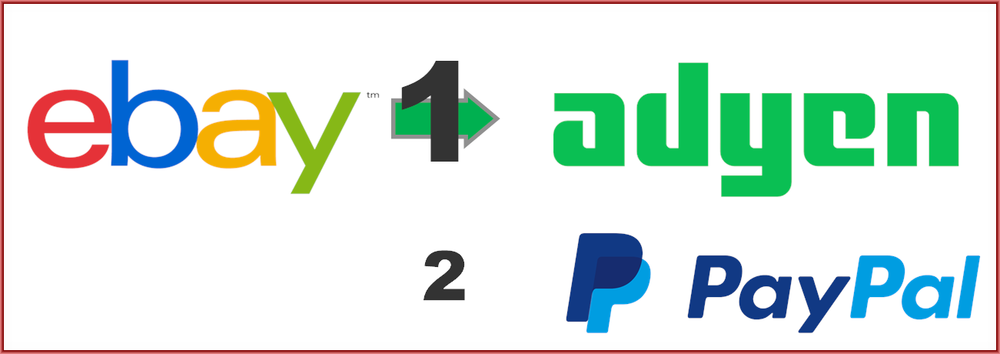 Am I Next? eBay transitions to Ayden payment processing and keeps PayPal as another option.