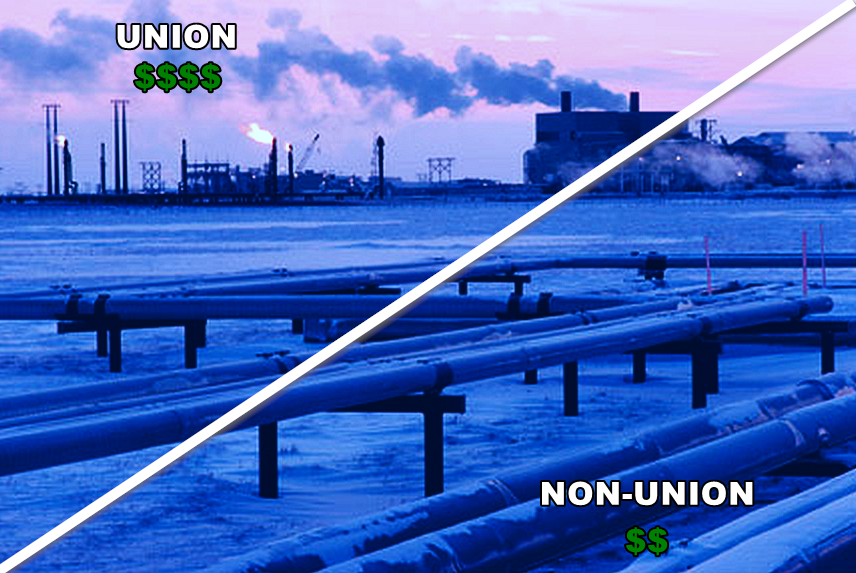 Am I Next? BP switches from union contract labor to non-union contract labor.