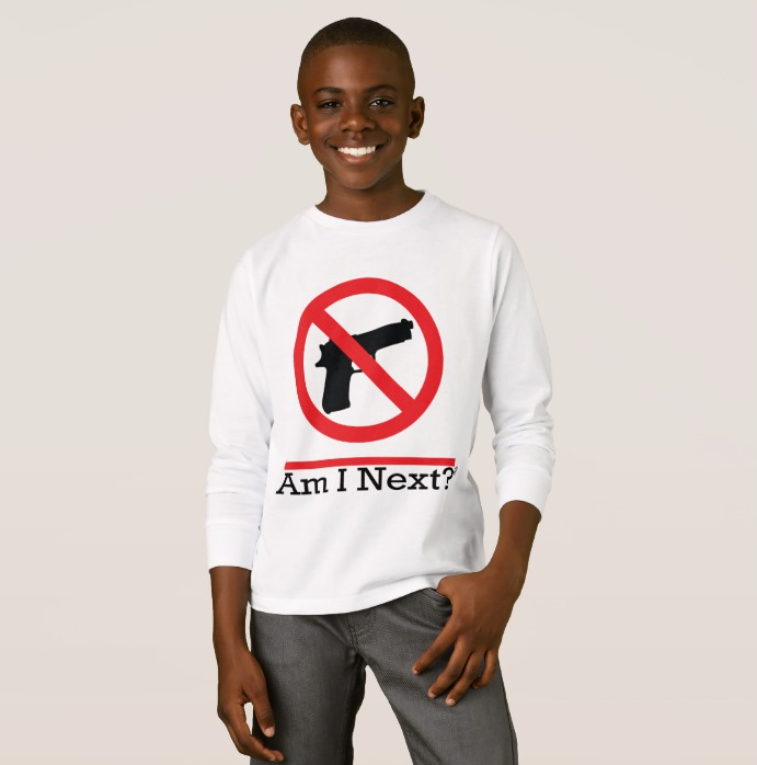 AM I NEXT?   NO HANDGUNS