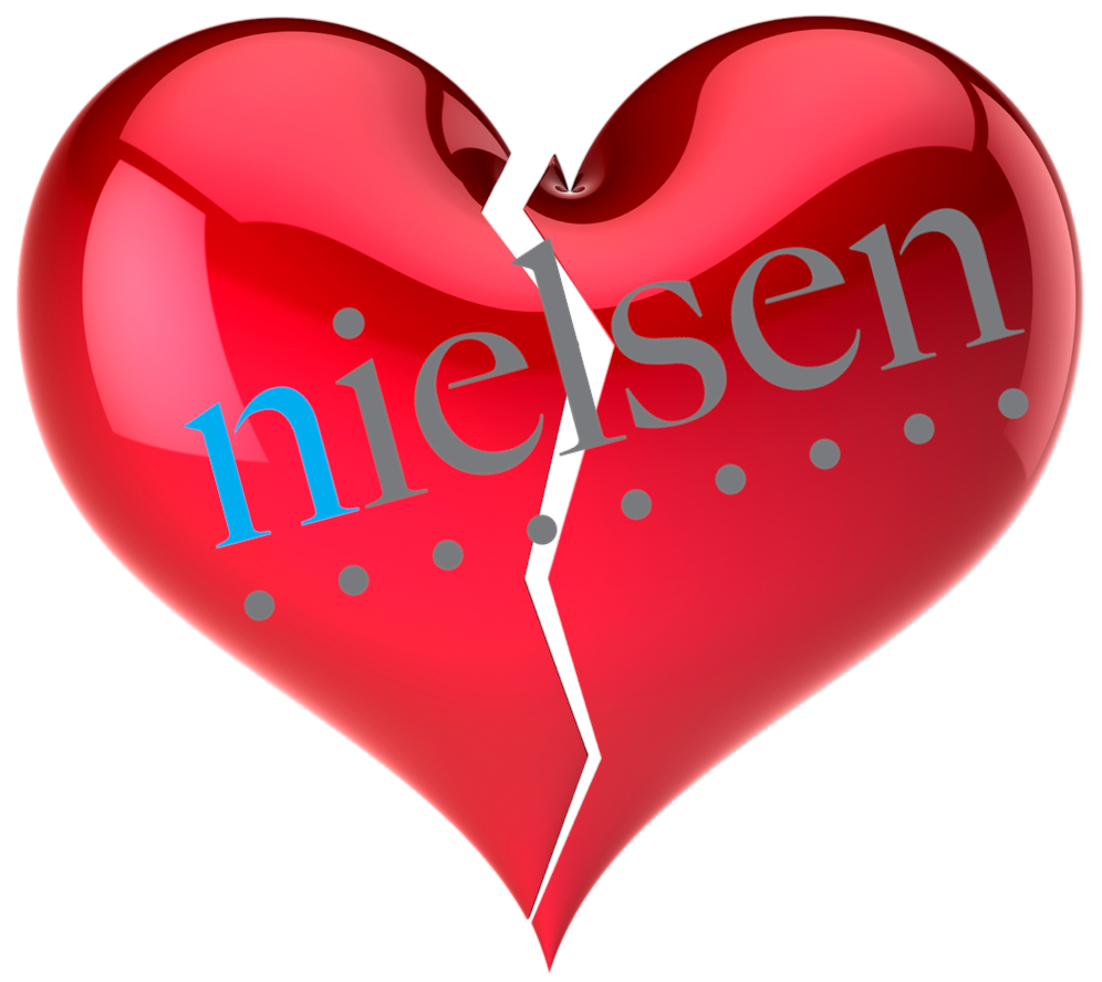 AM I NEXT? NO LOVE AT NIELSEN MEDIA RESEARCH (UPDATED) — AM