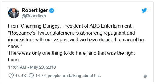 Am I Next? Bob Iger's Tweet