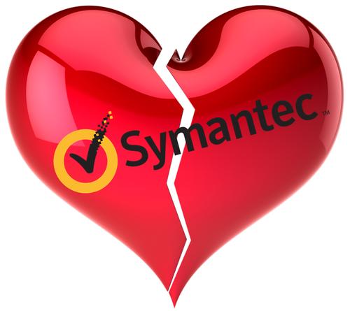 NO LOVE AT SYMANTEC — AM I NEXT?