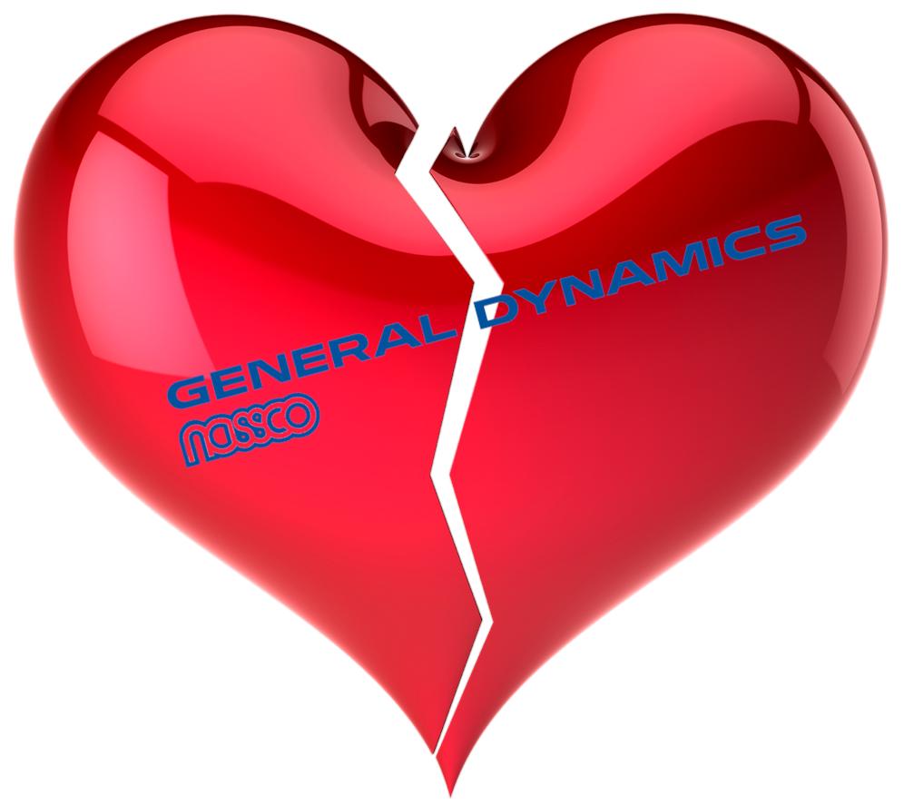 AM I NEXT? NO LOVE AT NASSCO - GENERAL DYNAMICS — AM I NEXT?