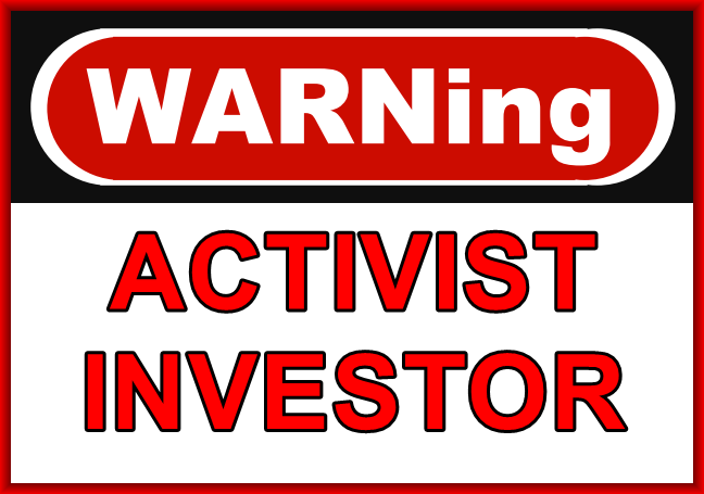 Am I Next? Activist Investor at Symantec.