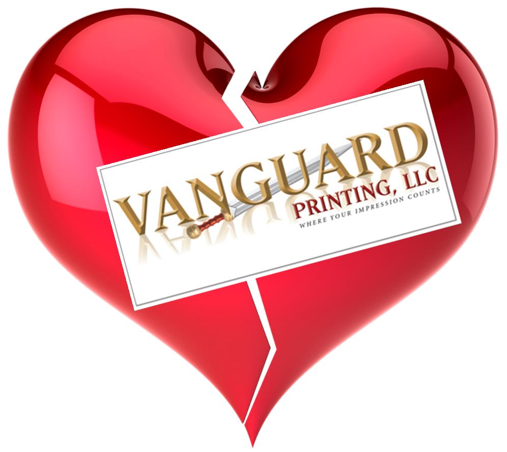 Am I Next? Vanguard Printing to close permanently.
