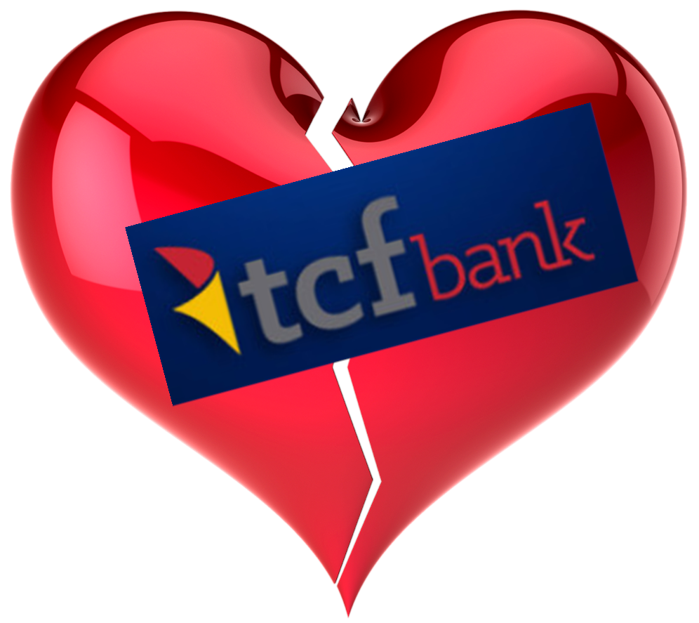 Am I Next? No love at TCF Bank - 145 layoffs.