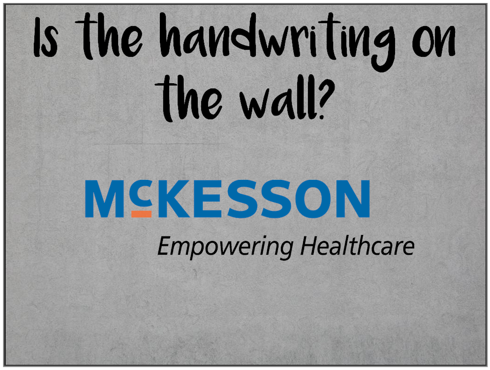 Am I Next? Will McKesson leave California and leave laid-off employees?