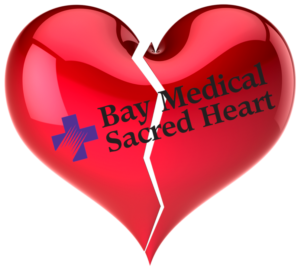 Am I Next? Bay Medical Sacred Heart downsized and lays off 800 employees.