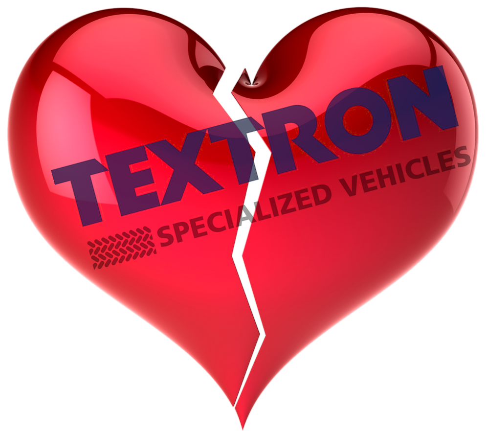 Am I Next? Textron restructuring its Specialized Vehicles Division - 400 layoffs anticipated.