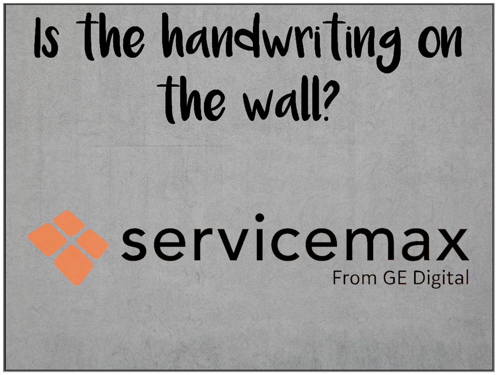 Am I Next? GE Digital sells 90% of Servicemax