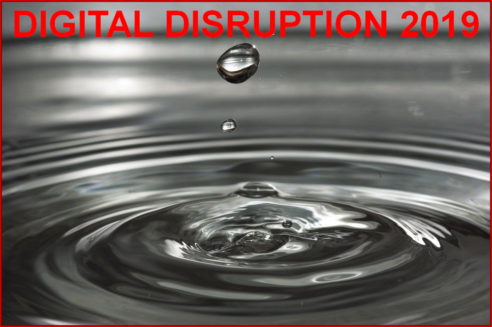 Am I Next? Digital Disruption  in 2019