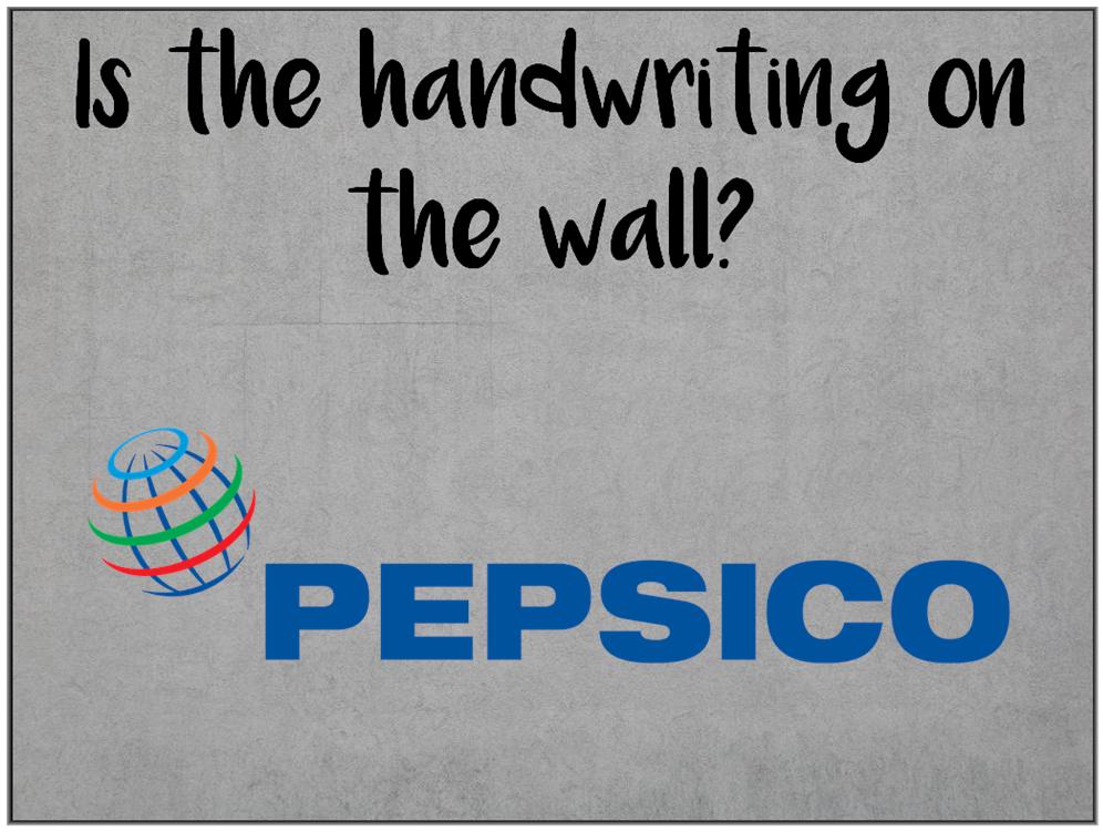 Pepsico Restructuring