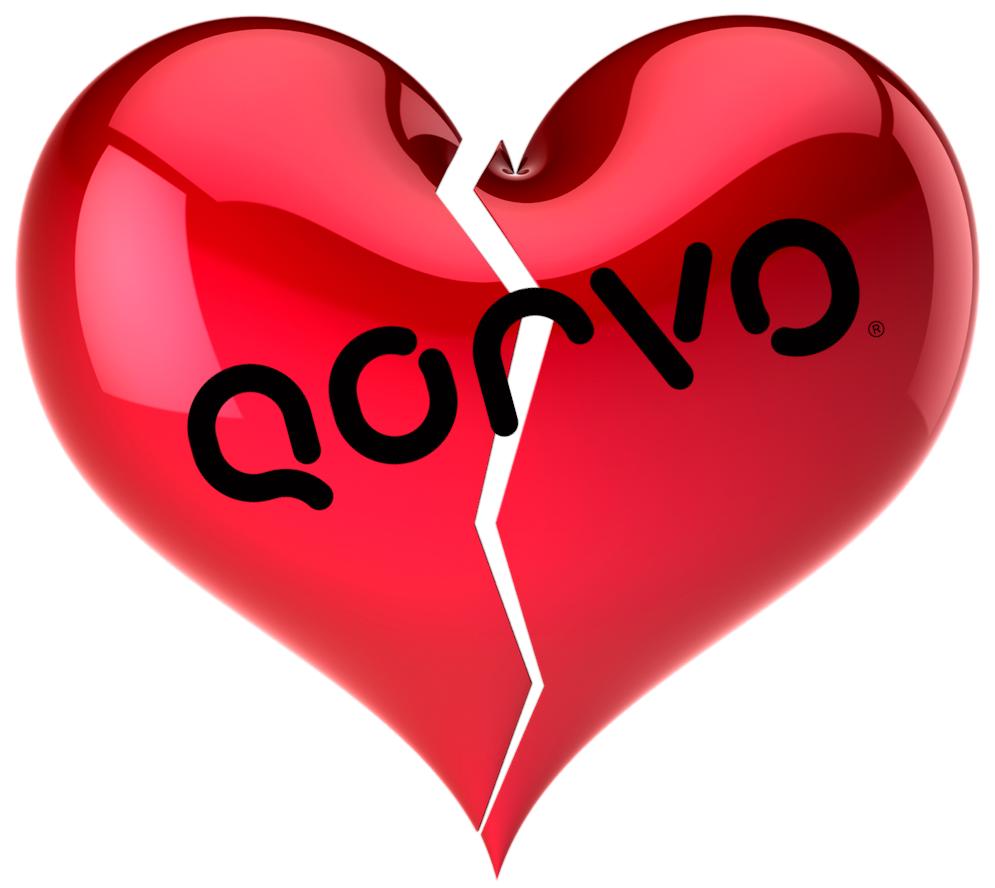 AM I NEXT? NO LOVE -- LAYOFFS AT QORVO — AM I NEXT?