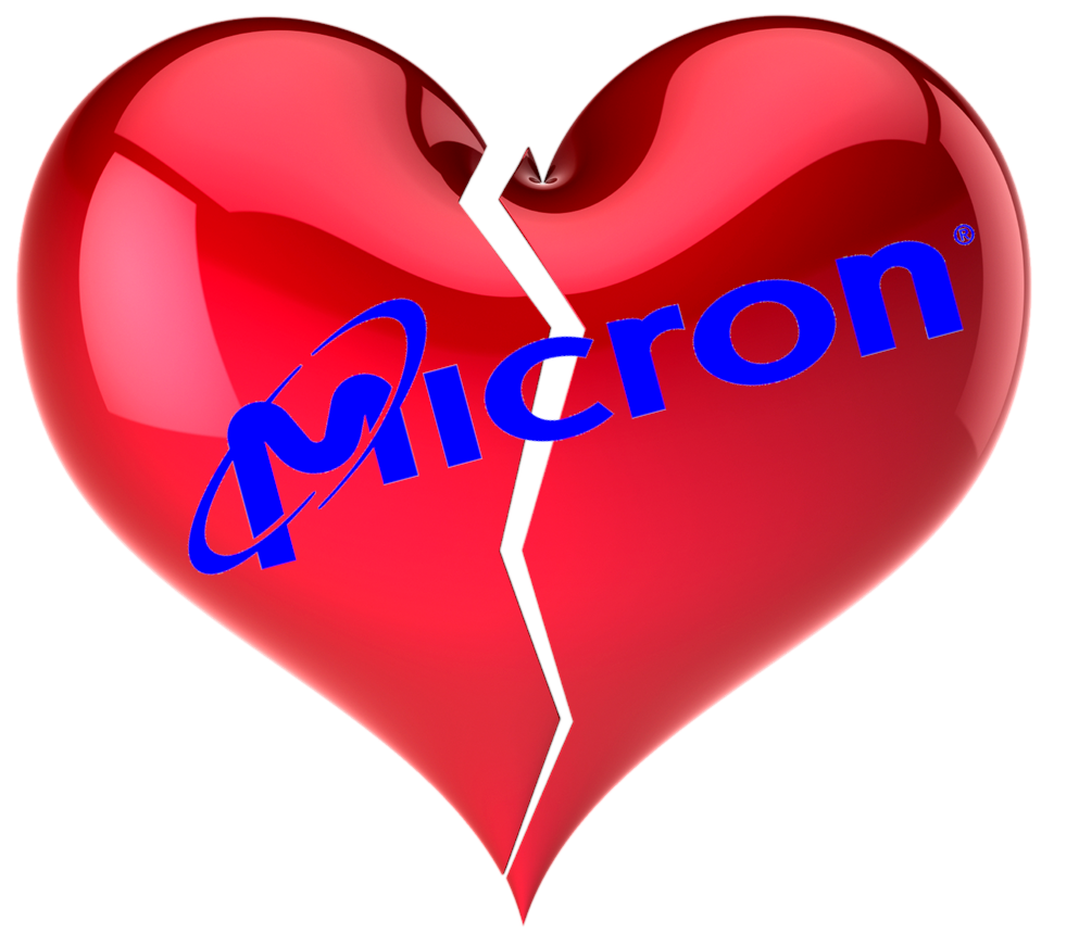 AM I NEXT? NO LOVE -- LAYOFFS AT MICRON TECHNOLOGY — AM I NEXT?