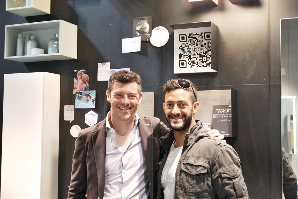 Daniele Molmenti con Guido Polesello