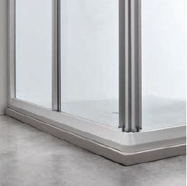 FINITURA SATIN - I profili in alluminio sono facili da mantenere nel tempo.