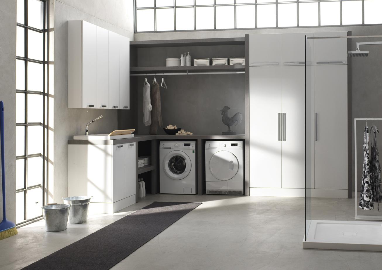 W&D - lavanderia — Arcom arredobagno