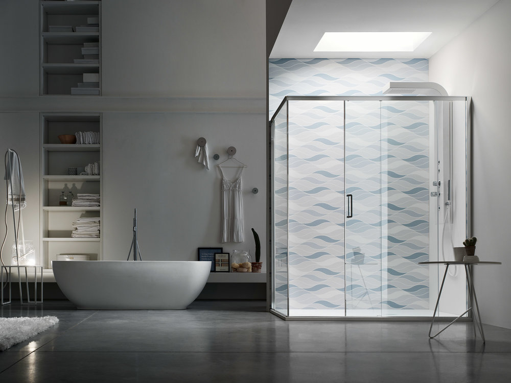 Arcom arredobagno - AKS living shower - S6