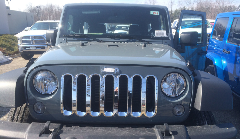 Chrome Grille, Jeep Wrangler