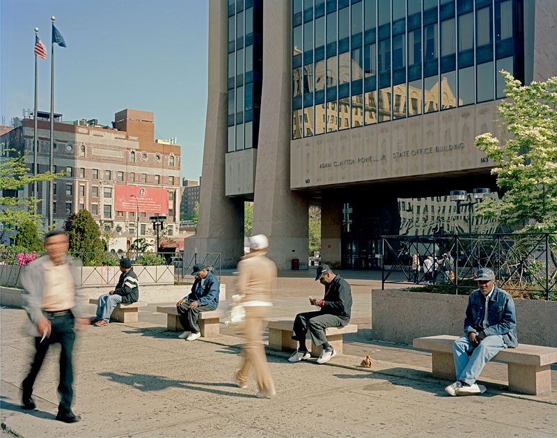 1.  Adam Clayton Powell Jr. State Office Building Plaza, 2008