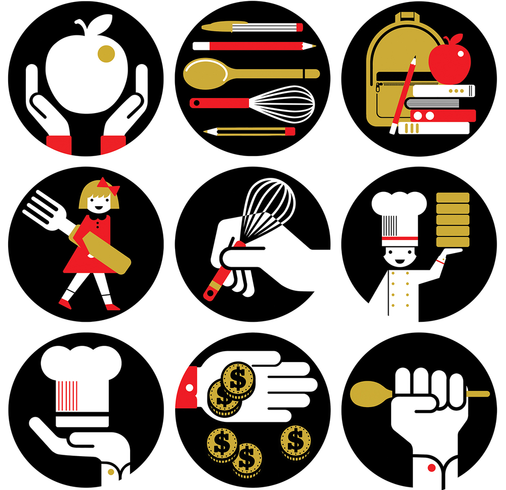 Lucy Vigrass | Cooking Light award icons