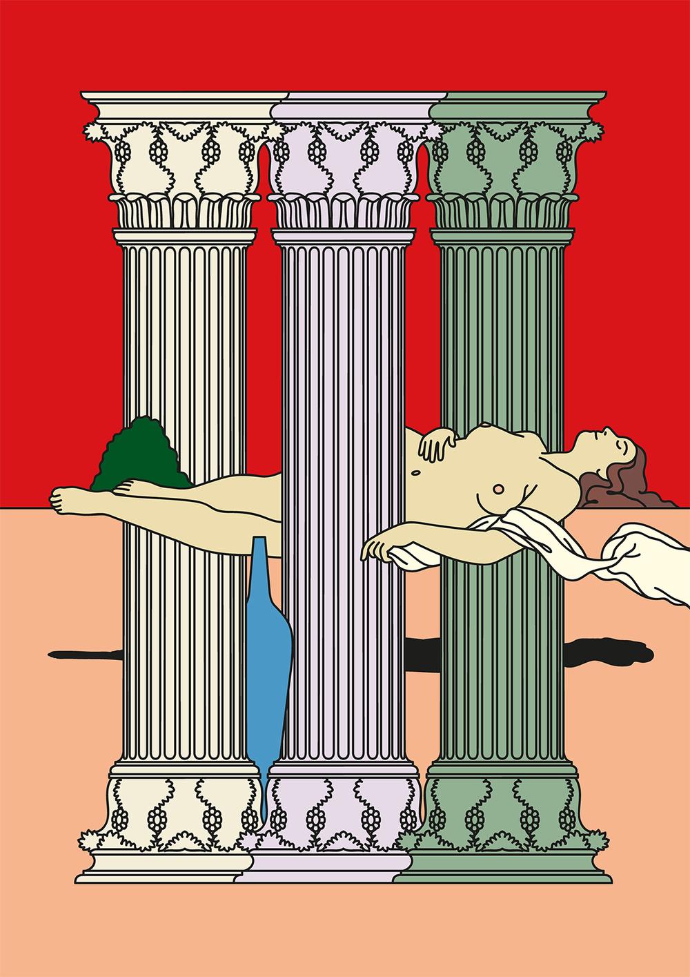 Edward Carvalho-Monaghan | Venus Among the Columns