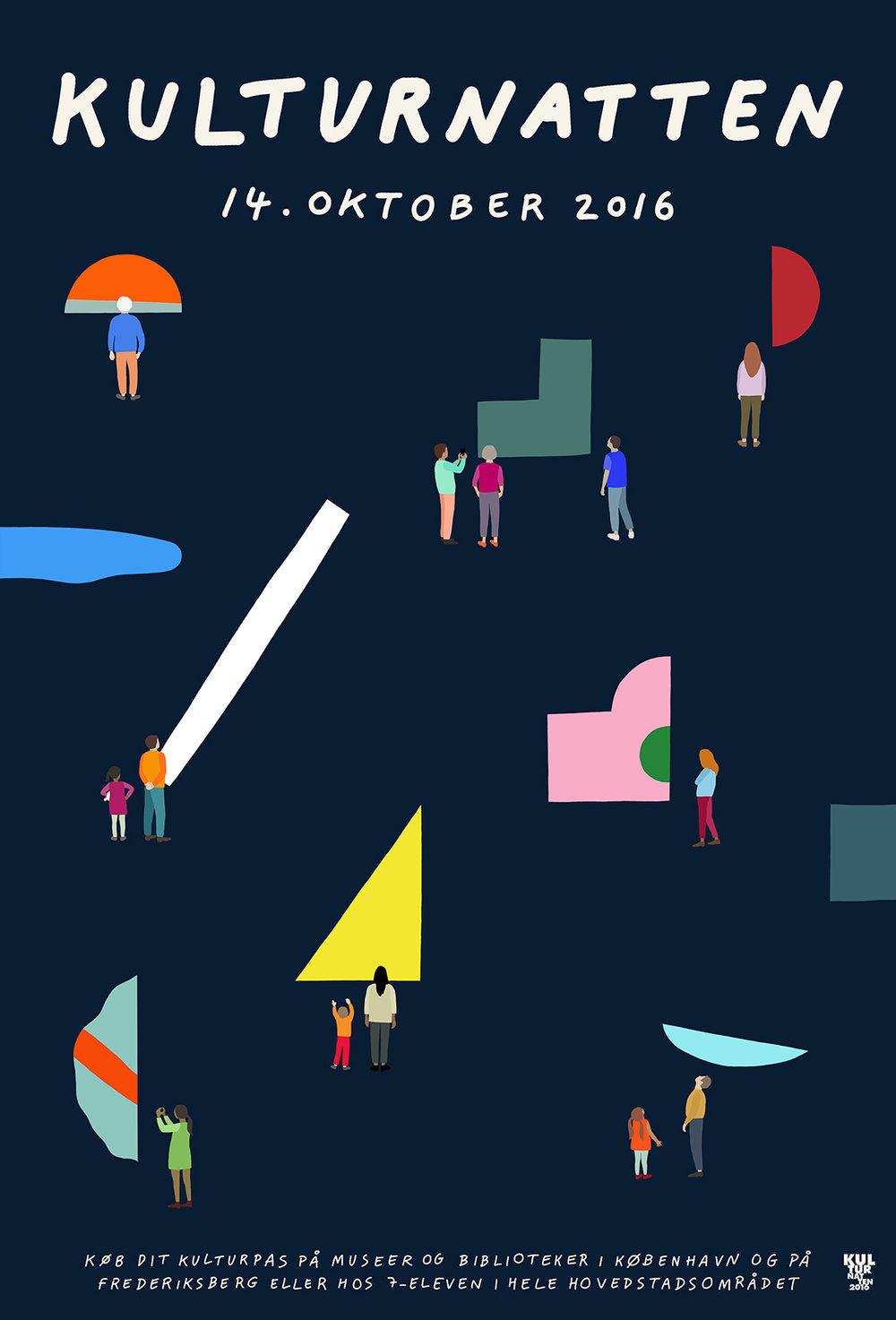 Hvass+Hannibal | Kulturnatten 2016 poster