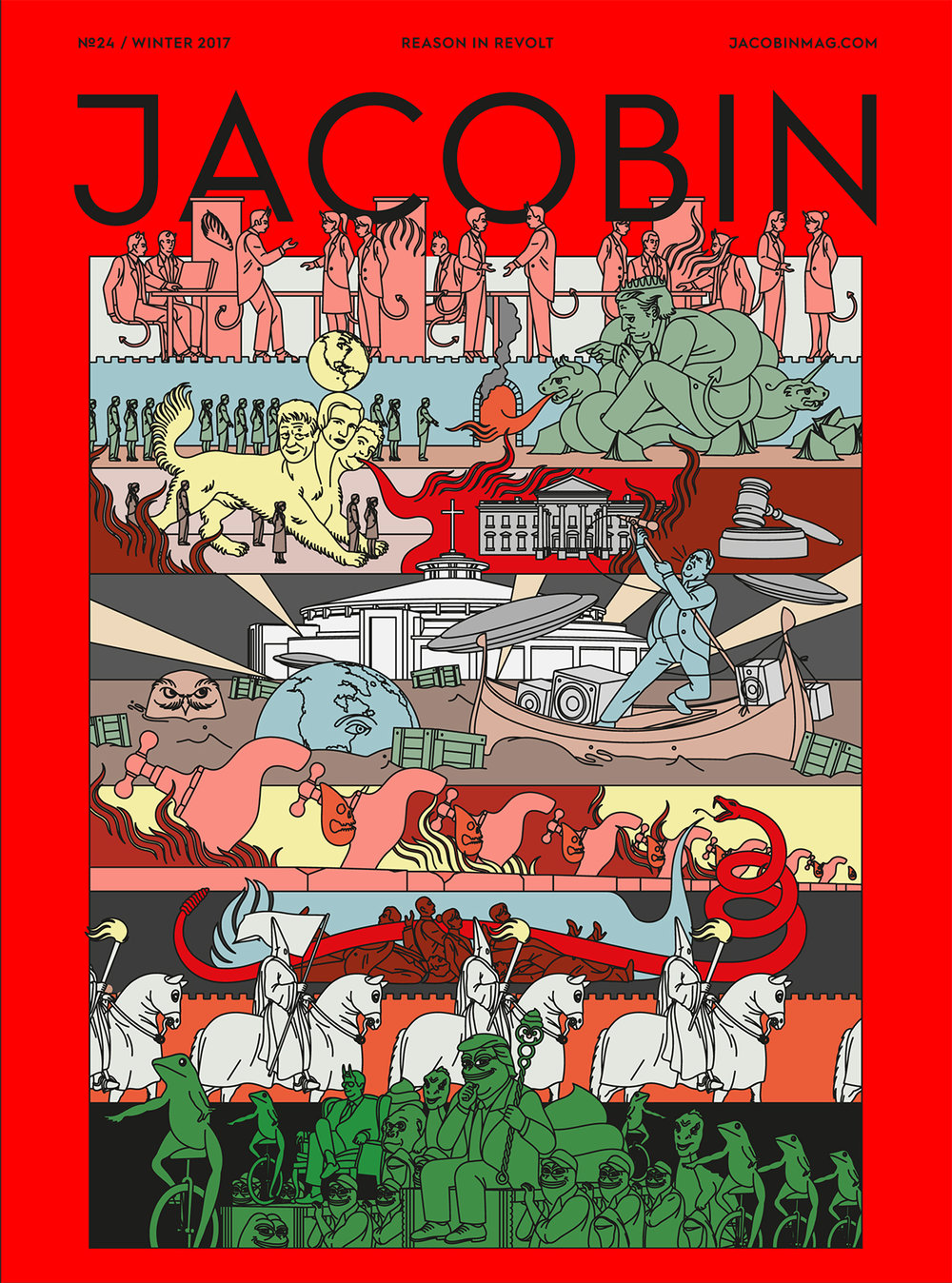 Edward Carvalho-Monaghan | Jacobin Issue 24 cover
