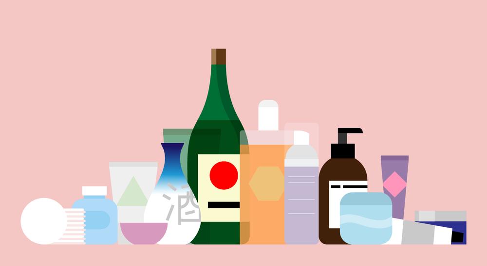 Rob Bailey | Sake Beauty product