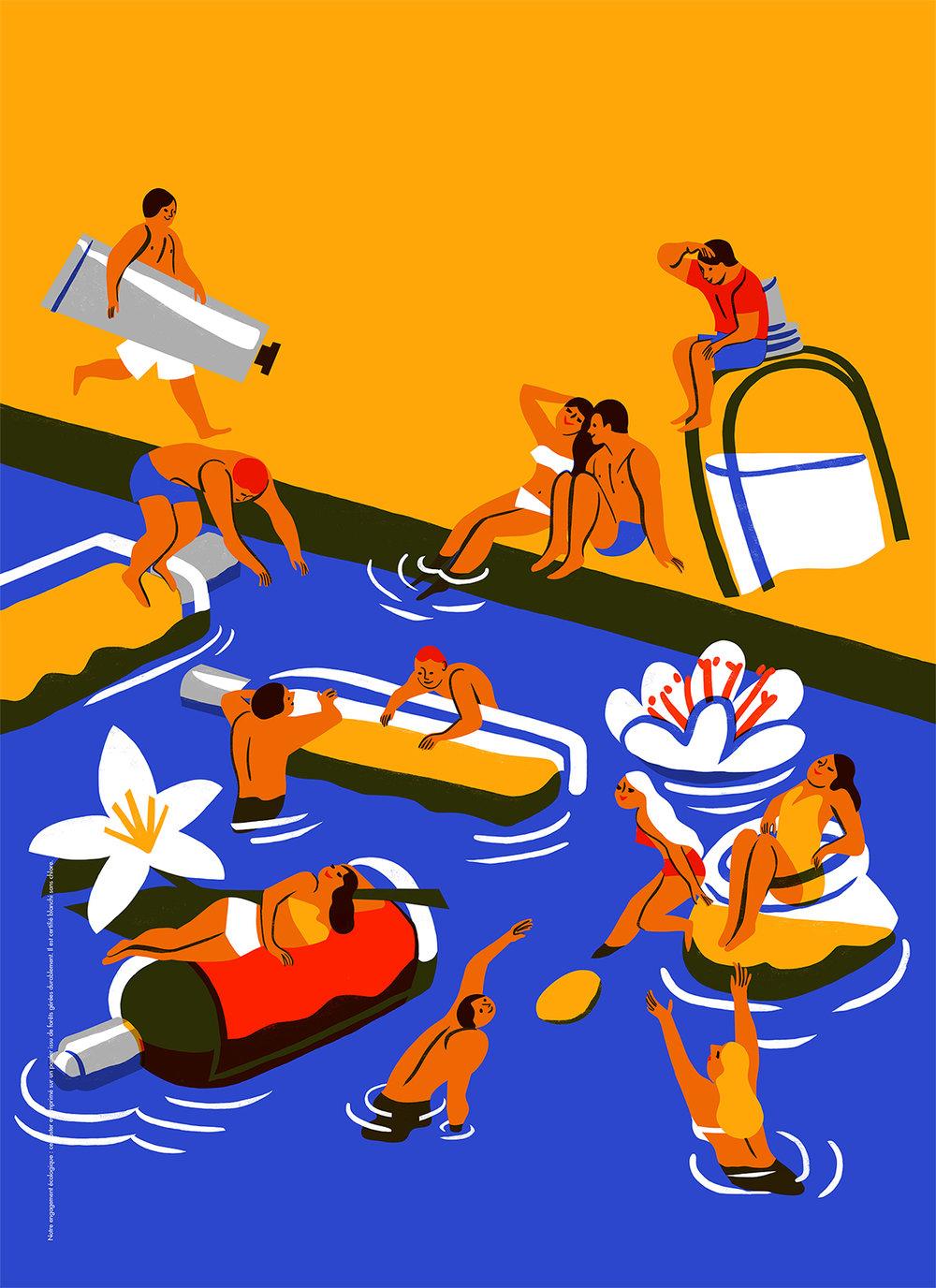 Virginie Morgand | L'Occitane Summer 2016 poster