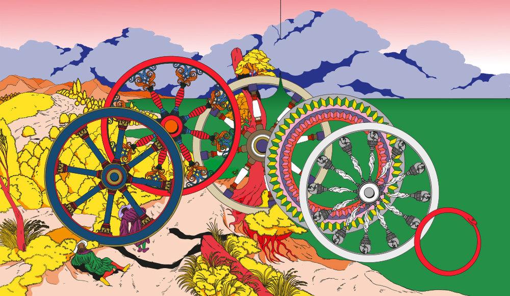 Edward Carvalho-Monaghan | Wheels of Fortune