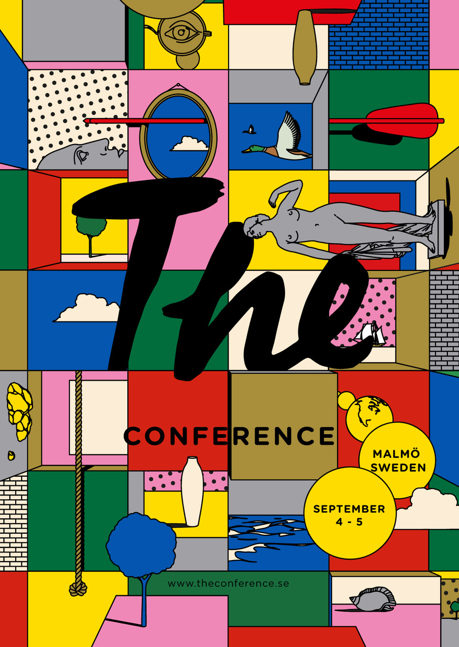 Edward Carvalho-Monaghan | The Conference 2018 Visual Identity