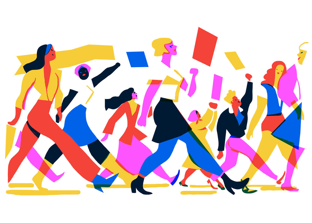 Virginie Morgand | Womens March for Unlimited