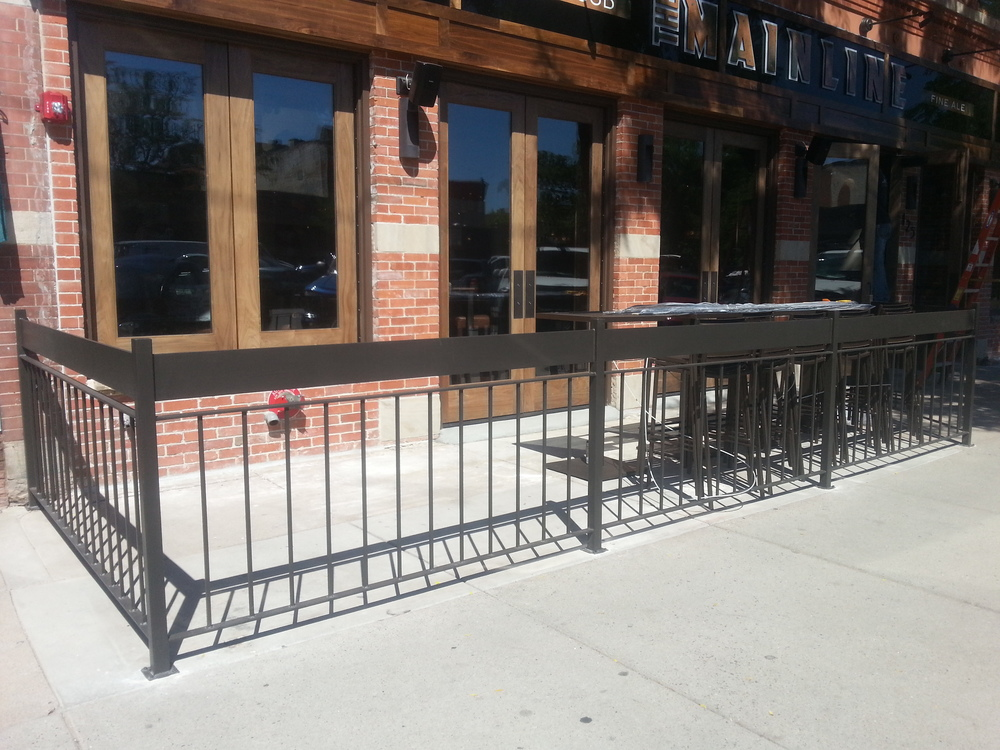 patio rail
